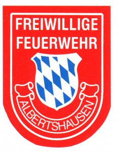 Ärmelabzeichen FF Albertshausen alt